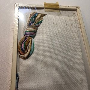 Other - New Framed Counted Cross Stitch Set for Bathroom